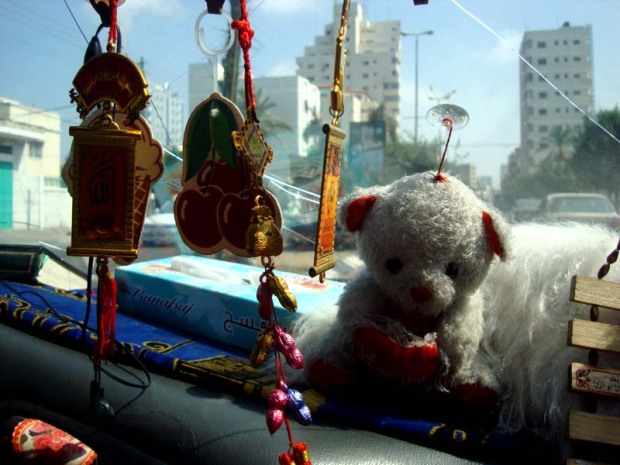 taxi teddy decor