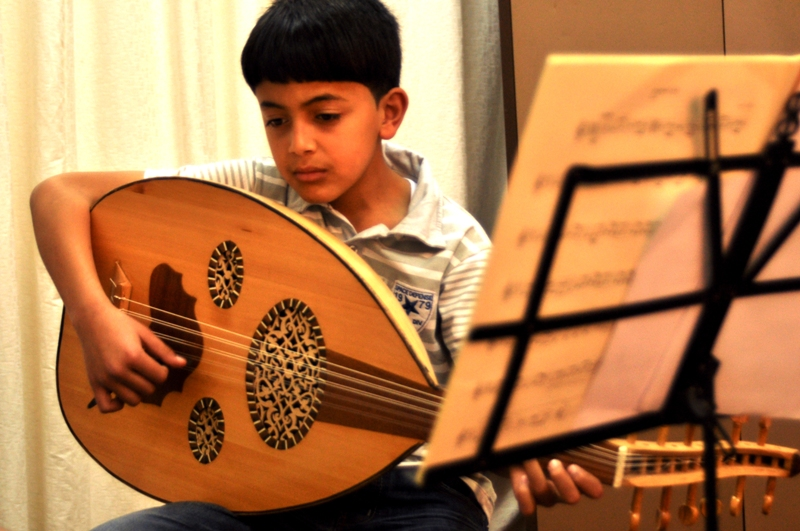 music to live by | In Gaza