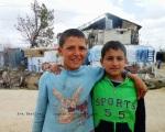 boys from Fayda Syrian refugee camp, Bekaa valley, Lebanon.