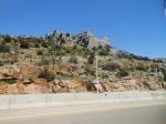 road from Lebanese-Syrian border towards Damascus.