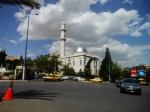 entering Damascus.