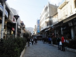 pedestrian shopping area, Damascus