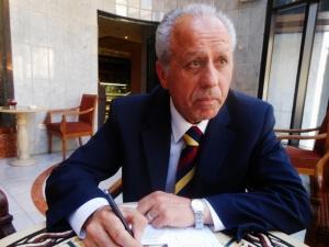 Raslan Khadour, Dean of Economics, Damascus University