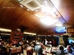 local Damascus restaurant at night.