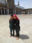 young friends at Umayyad mosque, Damascus