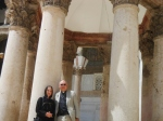 with Andrew Ashdon at Umayyad mosque, Damascus