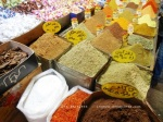 Saffron, zataar (wild thyme) and loads more in Damascus market