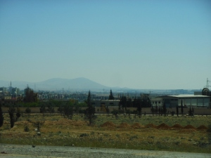 north from damascus