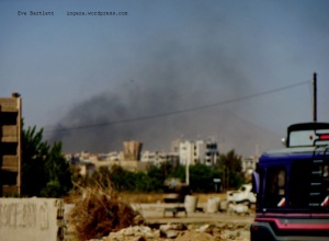 """Jobar, roughly one km east of the old city of Damascus, is one of several sites known to have been infiltrated by """"rebels"""" and from where they fire mortars... and gunfire... on various parts of Damascus"""