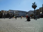 square opposite Umayyad mosque