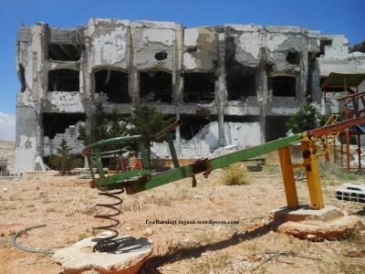 Terrorists occuped the landmark Safir Hotel.