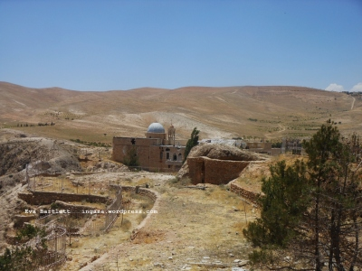 Sts. Sergius et Bacchus Monastery shelled by Nusra & co