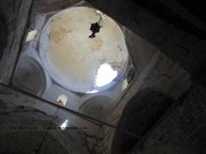 Terrorists mortared the dome of Sts. Sergius et Bacchus church.