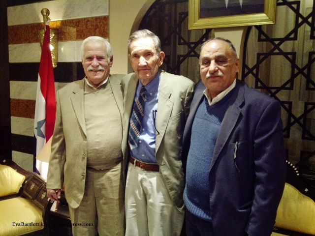 PFLP leaders and Ramsey Clark