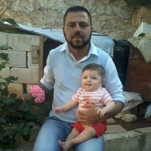 Fadi Assad and his daughter Rimas