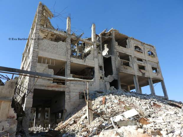 FSA prison building above ground