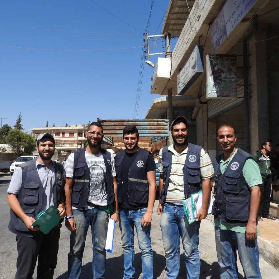 Volunteers from the Greek Orthodox Patriarch of Antioch and All the East brought for 6,000 families in Nubl families and 4,000 in Zahra'a, villages north of Aleppo besieged by terrorist factions for 3.5 years https://ingaza.wordpress.com/2016/07/27/volunteerism-in-syriaa-journalists-journey-to-the-heart-of-syria/