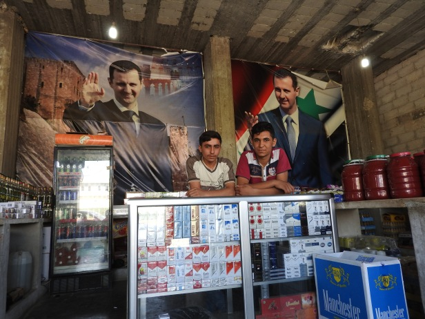 *The secularism and support for President al-Assad which the Western-Gulf-Zionist-Turkish attack on Syria has tried–and failed–to destroy. https://ingaza.wordpress.com/2016/09/22/aleppo-and-nearby-villages-ravaged-by-the-wests-moderate-terrorists-photo-essay/