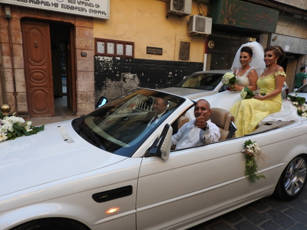 Wedding in Old Damascus. See: https://www.mintpressnews.com/damascus-life-returns-5-years-after-nato-destabilization-efforts/218601/