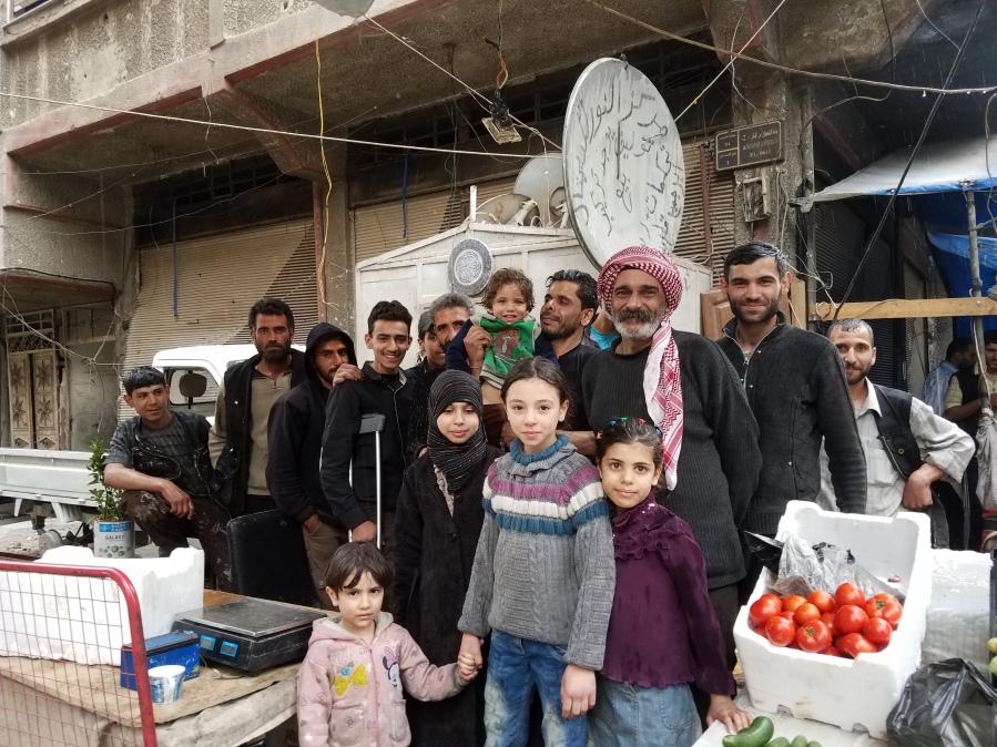 Douma civilians after i spoke with them
