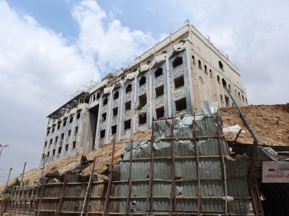 Douma underground hospital