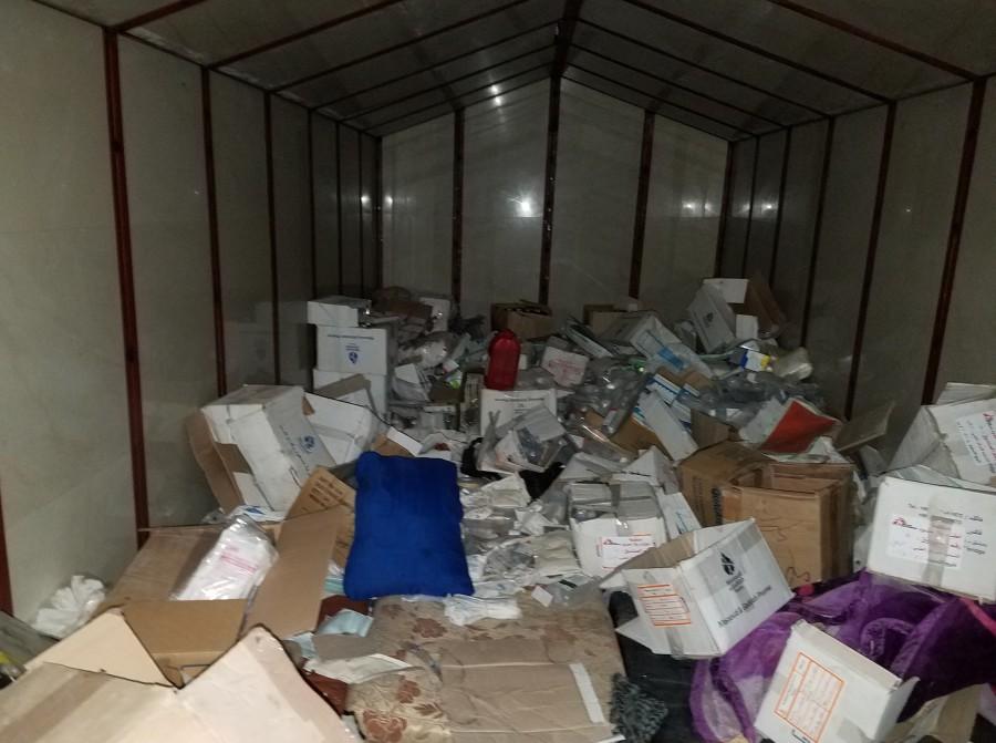 medicines storage Saqba underground hospital