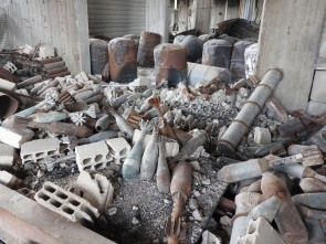 munitions factory Saqba