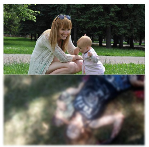 Kristina Zhuk, killed on Bloody Sunday with infant daughter Kira PHOTO from internet 2