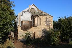 Zaitsevo home damaged by Ukrainian shelling